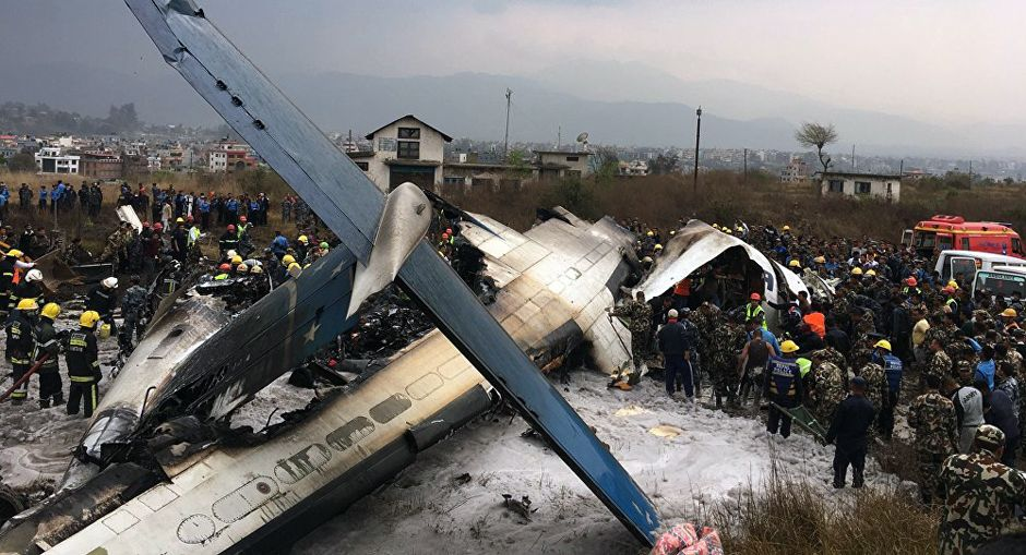 US-Bangla Airplane Crashed at TIA yesterday