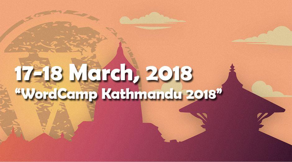 WordCamp Kathmandu 2018
