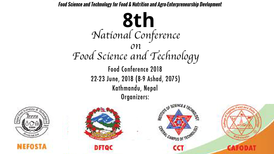 8th National Conference on Food Science and Technology. Image Source: Facebook