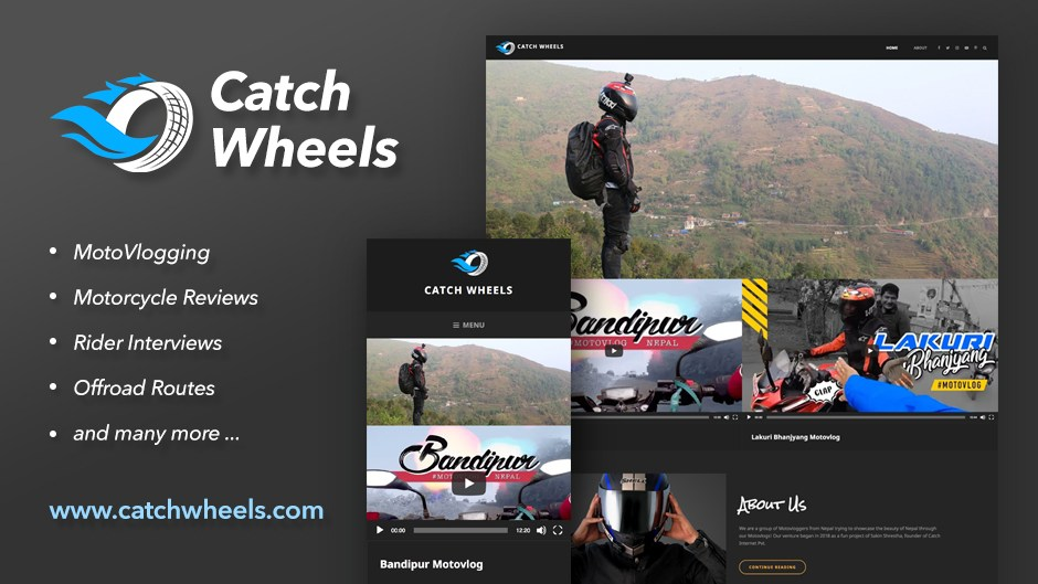 Catch Wheels - Catching up with adventures