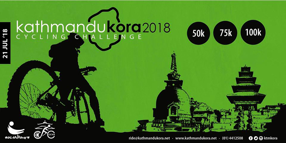 Kathmandu Kora Cycling Challenge 2018 | #kora18. Image Source: Facebook