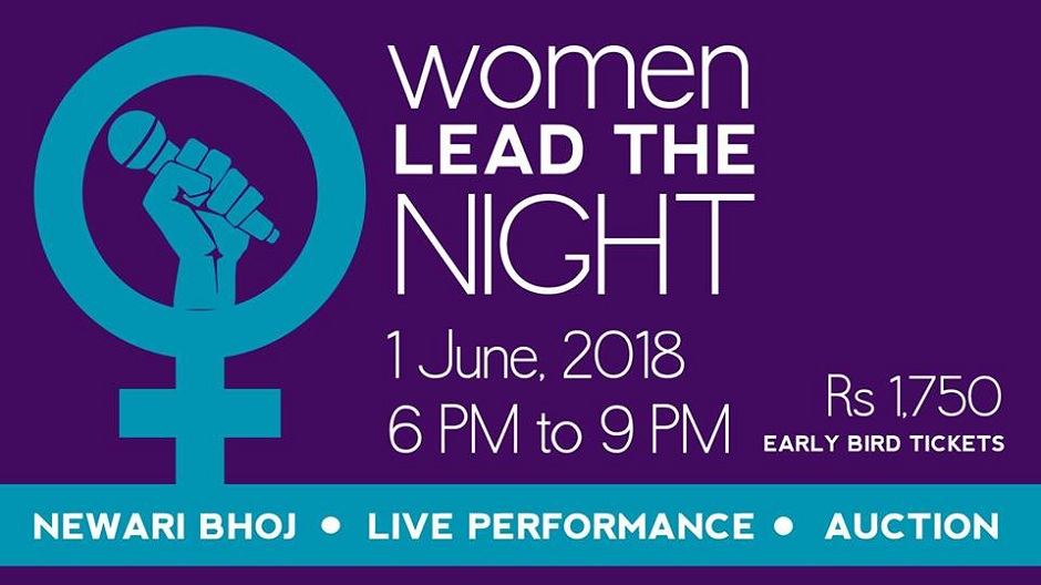 Women LEAD the Night | Fundraising Event. Image Source: Facebook