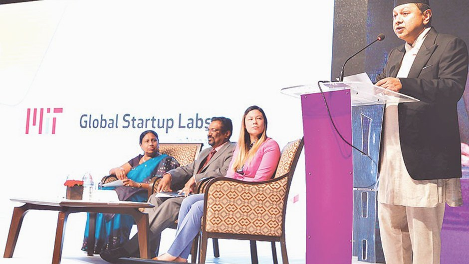 MIT Global Startup Labs Launched in Nepal. Image Source: Kathmandu Post