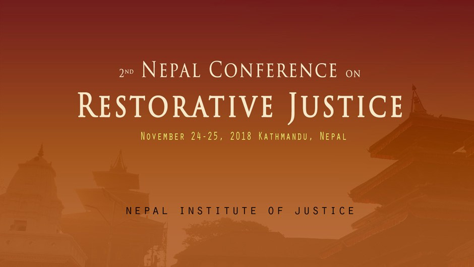 Second Nepal Conference on Restorative Justice. Image Source: Nepal Institute of Justice
