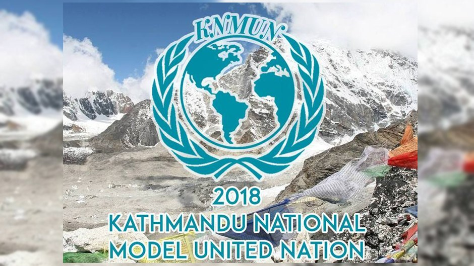 Kathmandu National Model United Nation. Image Source: Facebook