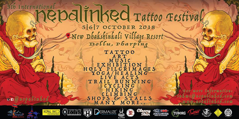 5th International Nepal Inked Tattoo Festival. Image Source: All events in Nepal