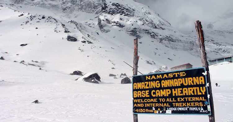 Annapurna Base Camp Trek. Image Source: Nepal Trekking