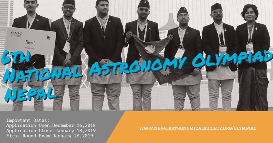 National Astronomy Olympiad Nepal 2019. Image Source: NASO