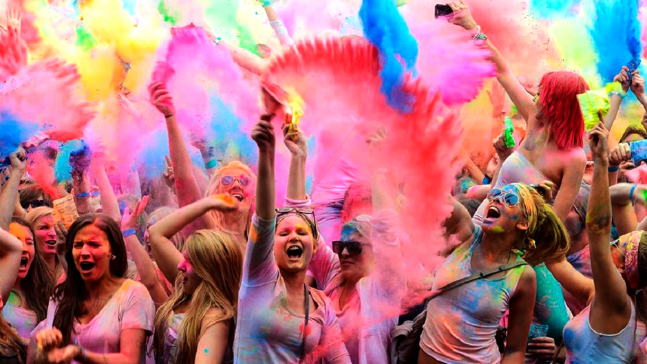 Image result for holi in nepal