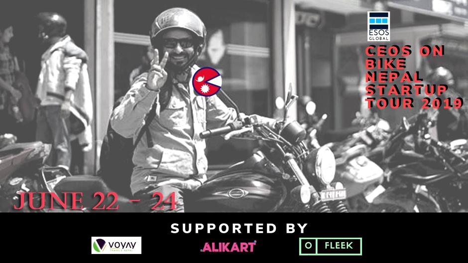 CEos on Bike- Nepal Startup Tour 2019