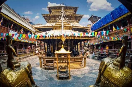 Golden Temple in Patan
