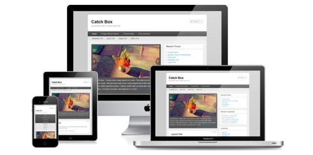Catch Box Responsive