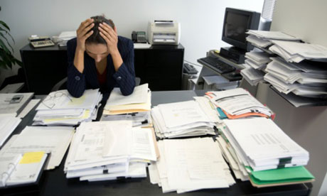 5 Ways to deal with work pressure