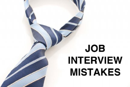 biggest interview mistakes