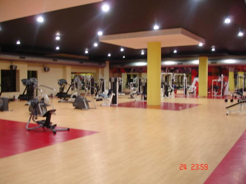 Infosys Mysore training campus gym