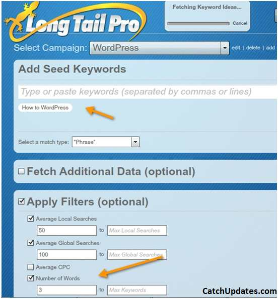 Long tail Keywords_Long Tail Pro