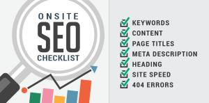 SEO checklist For New Website