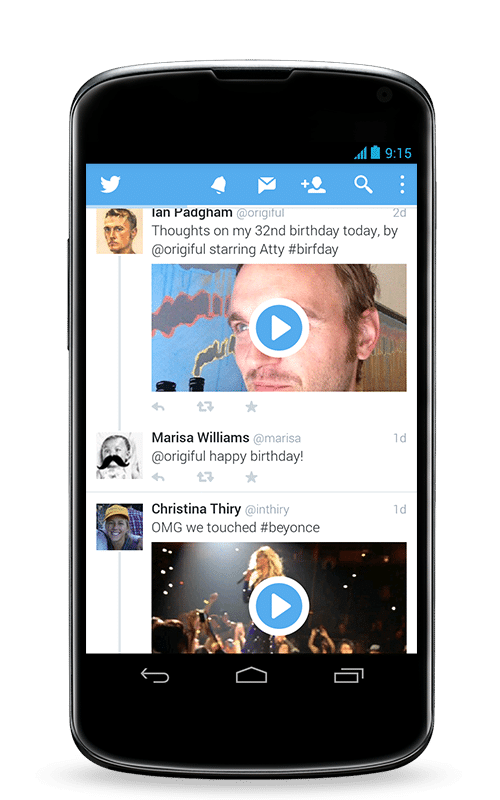 Twitter - Mobile Apps for Bloggers