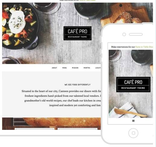 Cafe Pro Theme - StudioPress Genesis Child Themes