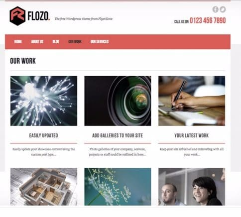 Flozo - Best Free WordPress Themes