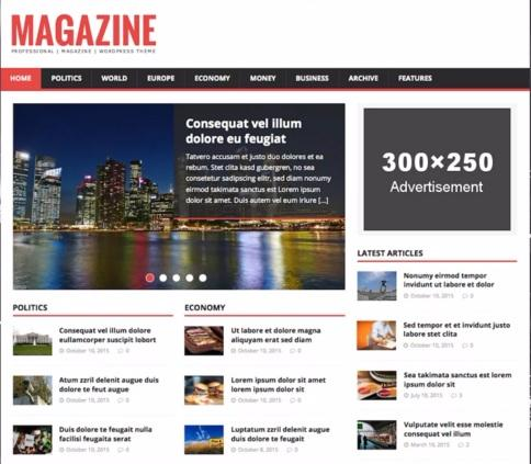 Magazine Lite - Best Free WordPress Themes