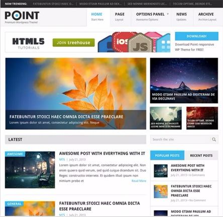 Point - Best Free WordPress Themes