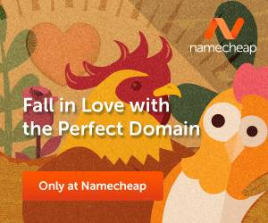 Namecheap Domain – 19% off