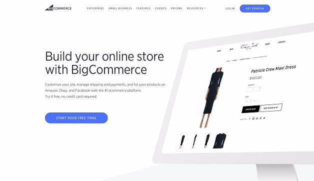 best e commerce website builders - Bigcommerce
