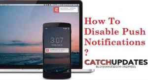 How To Disable Push Notifications FI