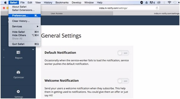 How To Disable Push Notifications on Safari