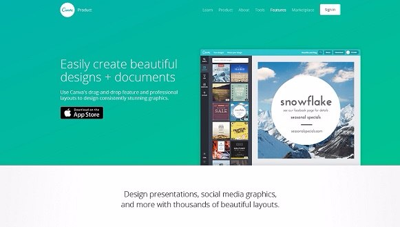 Tools To Create Infographics - Canva