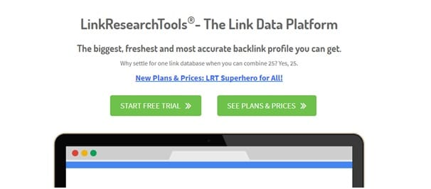 Checking and Building Backlinks tools - Link Research Tools