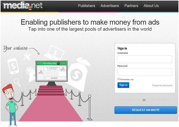 Google AdSense Alternatives - Media net