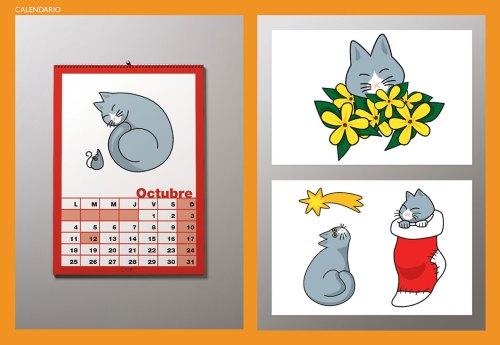 Calendario 02 CATIFY. Uno de nuestros calendarios de pared de nuestra marca registrada CATIFY®. A wall calendar by our trademark CATIFY®.