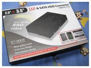 SSD 取付用のコンバータ届いた♪