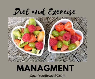 Diet and Exercise are important