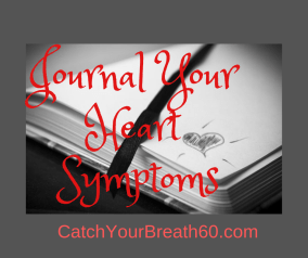 Health Tracker Journal for tracking the triggers of COPD and Heart Failure