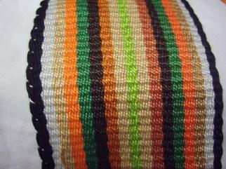 Wide - earth-tone stripes