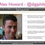 Alex Howard - Digiphile