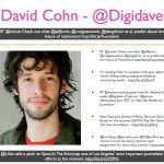David Cohn - @Digidave