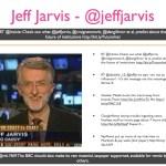 Jeff Jarvis - @jeffjarvis