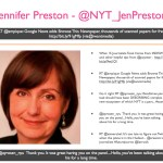 Jennifer Preston - @NYU_JenPreston