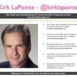 Kirk LaPoint - @kirklapointe