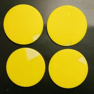 Yellow Coasters