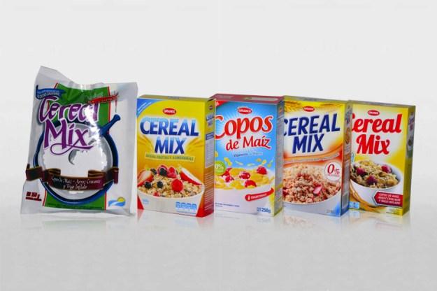 Rediseño de envases de cereales