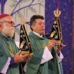 Arquidiocese de Botucatu acolheu hoje (01) o envio da imagem peregrina de Nossa Senhora Aparecida