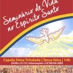 Seminário de Vida no Espírito Santo terá início no final do mês
