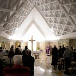 Papa: ter o rosto da alegria de ser perdoados, o pessimismo não é cristão