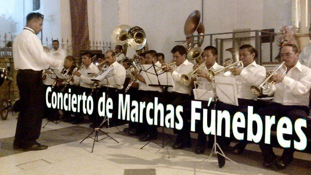 Concierto de Marchas Fúnebres