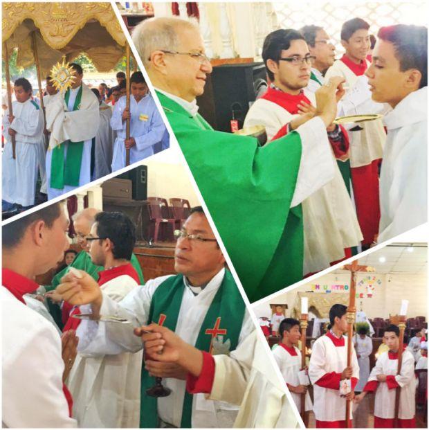 Encuentro Acólitos 2016 - Sacerdotes